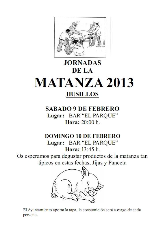 Jornadas de la Matanza 2013