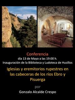 Conferencia inauguración de la biblioteca y ludoteca de Husillos